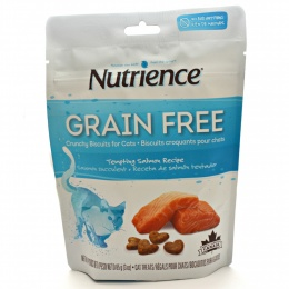 Nutrience Grain Free Bocaditos de Salmón Snack Gato