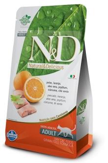 Natural&Delicious Pescado y naranja feline sin granos